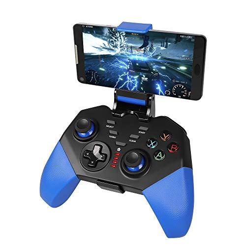 Gamepad mobile per PUBG, PowerLead PG8721 senza fili Joystick Turbo Combo Key Mapping Controller di...