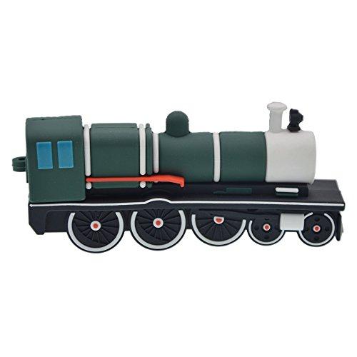 Pen drive - unità flash usb 2.0 da 16 gb - datarm divertenti verde treno forma penna usb regalo