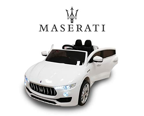 Toyscar Auto Macchina Elettrica per Bambini Maserati Levante 12V con Telecomando