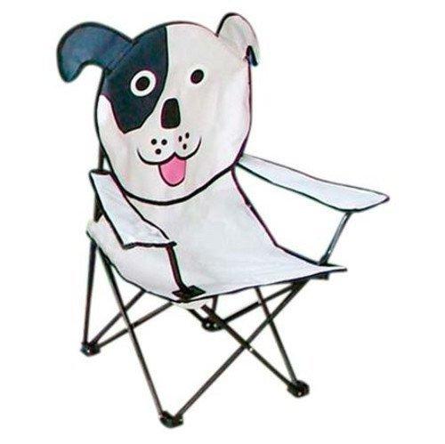 Camping Kinder-Klappsessel + Tasche Kinderstuhl Klappstuhl Gartenstuhl Faltstuhl, Motiv:Hund