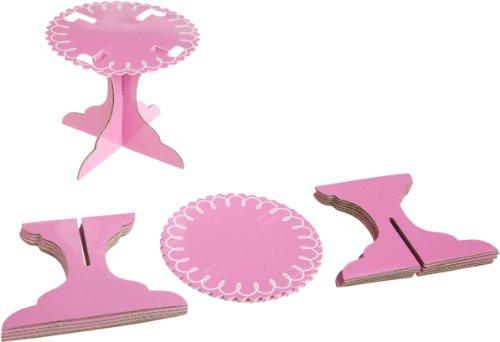 Wilton einzelne Cupcake-Ständer–Pink Wilton Cupcake Ständer
