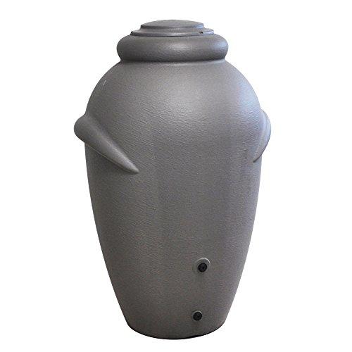 Regentonne Regenwassertank 360 Liter - Kunststoff, Farbe: Hellgrau
