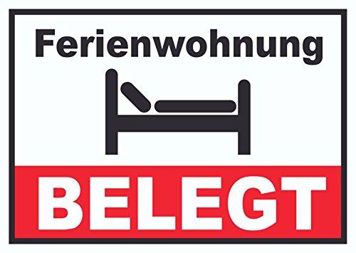 HB_Druck Ferienwohnung BELEGT Schild A0 (841x1189mm)
