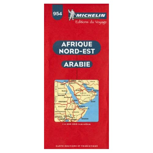 Carte routière : Afrique Nord-Est - Arabie, N°954