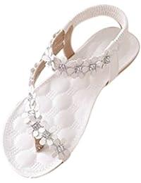 Damen Sommer Schuhe Xinan Böhmen Blumen Flip Flop Sandalen