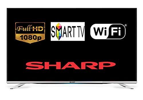 Sharp LC-55CFG6452K 55 Inch SMART Full HD LED TV Freeview HD USB Record (Refurbished)