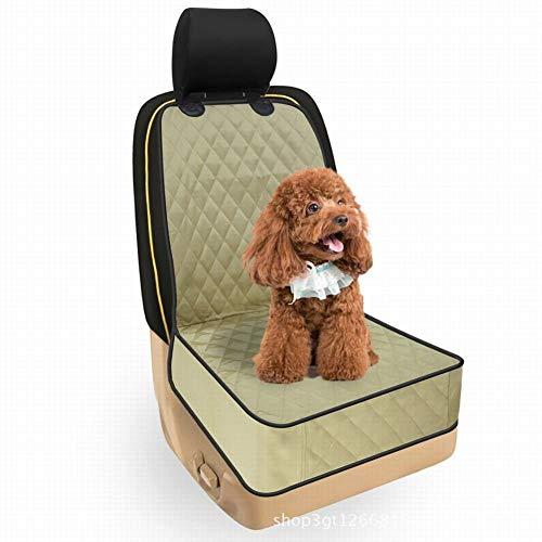 OVCK PET CARE Hund Autositzbezug Wasserdicht Kratzschutz Hängematte General Motors Erster Offizier Reisezubehör/Beige/Einheitlicher Code