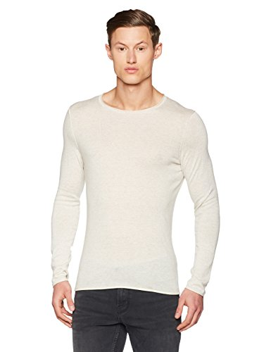 Boss Orange Kamiro 10184572, Pull Homme Blanc (Open White)