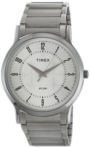 Timex Classics Analog Silver Dial Men's Watch – TI000R41400