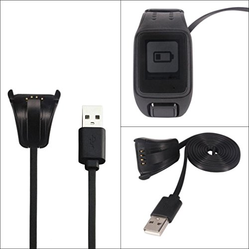 USB Data Charging Cradle Cable Charger For TomTom Spark Cardio Sport Watch GPS Fitness Watch Accessory 830mm