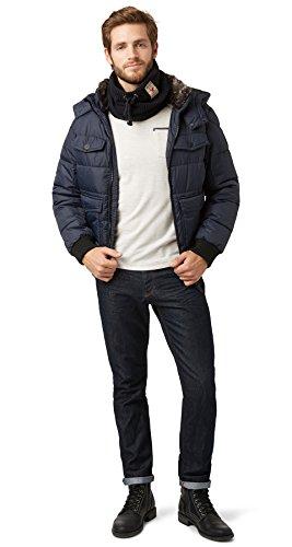 TOM TAILOR Messieurs Veste d'hiver Bleu