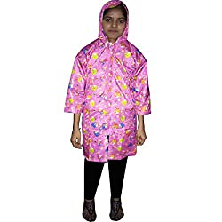 Glamio Printed Girls Raincoat