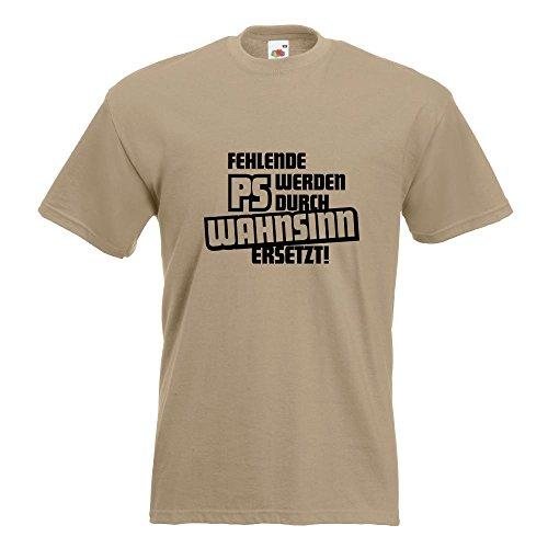 KIWISTAR - Fehlende PS werden durch... T-Shirt in 15 verschiedenen Farben