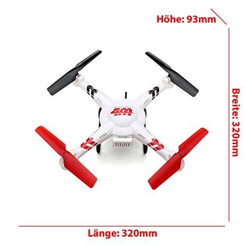 Wltoys V686G 2,4 G 4CH Echtzeit Übertragung FPV Drohne UFO Quadcopter mit 2MP HD Kamera Headless Mode - 6