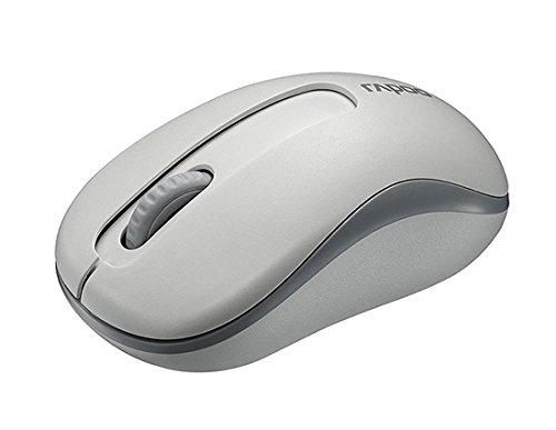 Rapoo M10 2.4G Wireless Optical Mouse 1000Dpi Long Battery Life (White)  available at amazon for Rs.1034