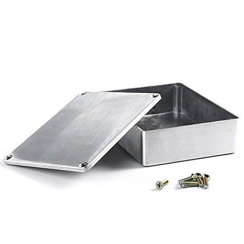 E Support E Unterstützung 1590BB Aluminium Metall Stomp Box Case Gehäuse Gitarre Effekt Pedal