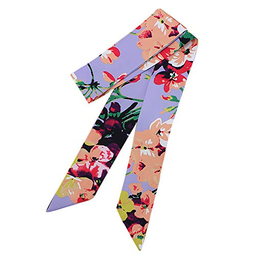 TianWlio Frauen Schals Mode Damen Band Tasche Hut Stirnband gebunden Griff kleine Band Schal