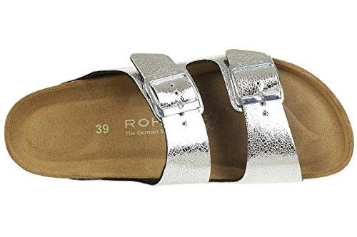 Rohde Alba 5616 Tongs Femme silver