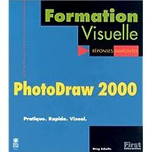 Formation Visuelle : PhotoDraw 2000, pratique, rapide, visuel