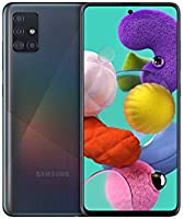 Samsung Galaxy A51 (16,4 cm (6.5 inch) 128 GB intern geheugen, 4 GB RAM, Dual SIM, Android,) Duitse versie, crush black
