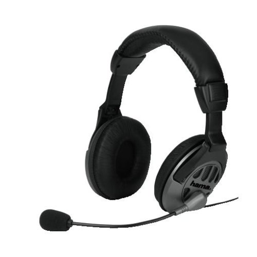 Hama Multimedia-Headset CS-408, Stereo Multimedia-stereo-headset