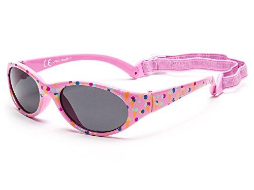 a3bc38f6e0 Kiddus Gafas de sol para niña niño entre 2 y 6 años, hecho de goma  TOTALMENTE FLEXIBLES, 100% protección rayos UVA y UVB, seguras,  confortables y muy ...