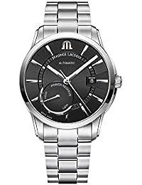 Maurice Lacroix PONTOS POWER RESERVE PT6368-SS002-330-1 Automatic Mens Watch Classic & Simple