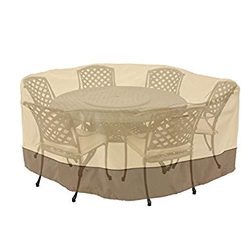 LIXIONG Garten-Möbel Bedecken Möbelabdeckung Draussen Wasserdicht Balkon Tische Und Stühle...