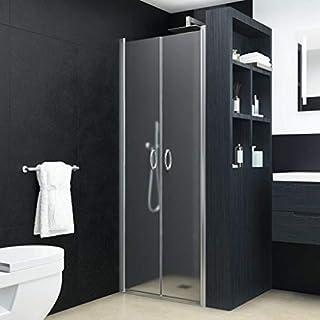 guyifuzhuangs Küchen- und Sanitärinstallationen Zubehör für sanitäre Anlagen Duscharmaturen Duschtüren Matt ESG 75 x 185 cm