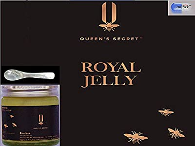 Queen's secret™ 100% Pure and Fresh Royal Jelly 50g + FREE mother of pearl spoon from Dr. T & T Health