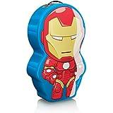 Philips Marvel Iron Man - Linterna, luz blanca cálida, LED integrado 0,3 W, multicolor