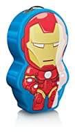 Philips Marvel Iron Man LED Taschenlampe, blau/rot 717673516