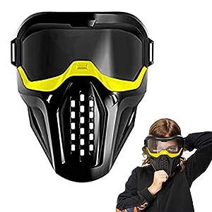 Leikance Vollgesichtsschutzmaske, Schutzbrille für Outdoor-Spiele