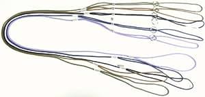 Ausstellungsleine 3mm - Vorführleine - 3 Längen und viele Farben