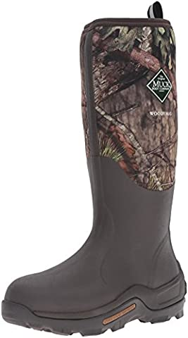 Muck Boots Men's Woody Max (New Camo) Wellington Boots, Brown (Mossy Oak Break-up Country), 11 UK 46