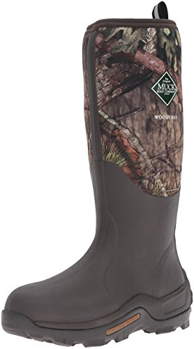 Muck Boots Men's Woody Max (New Camo) Wellington Boots, Brown (Mossy Oak...