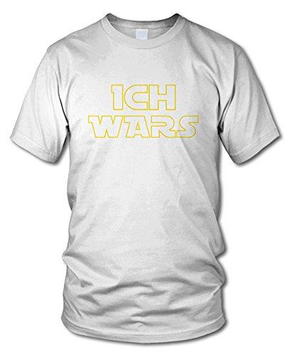 shirtloge - ICH WARS - Kult - Fun T-Shirt - in verschiedenen Farben - Größe S - XXL Weiß