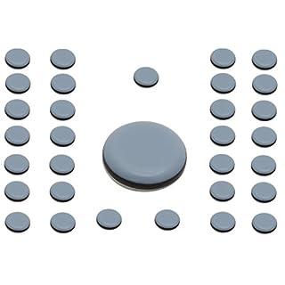 32 x Möbelgleiter Teflongleiter Supergleiter Teflon Gleiter selbstklebend 19mm SAMWERK®