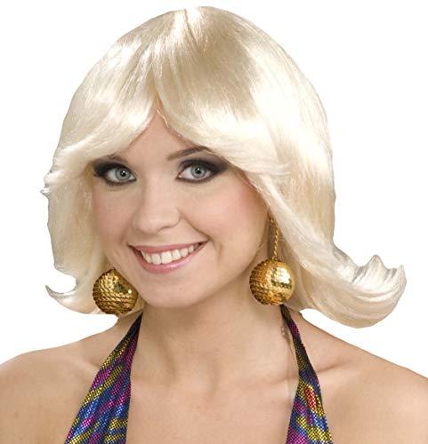 Perücke Kostüm Flip - Perücke 70er Jahre Kostüm Flip blond