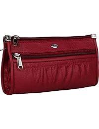 KAWTRA Premium Quality PU Leather Women's And Girls Wallet Clutch Purse Handbag