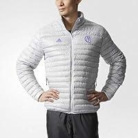 Adidas Real Madrid Light Chaqueta de plumón–Crystal White S16/Ray Purple F13, Color, tamaño Large