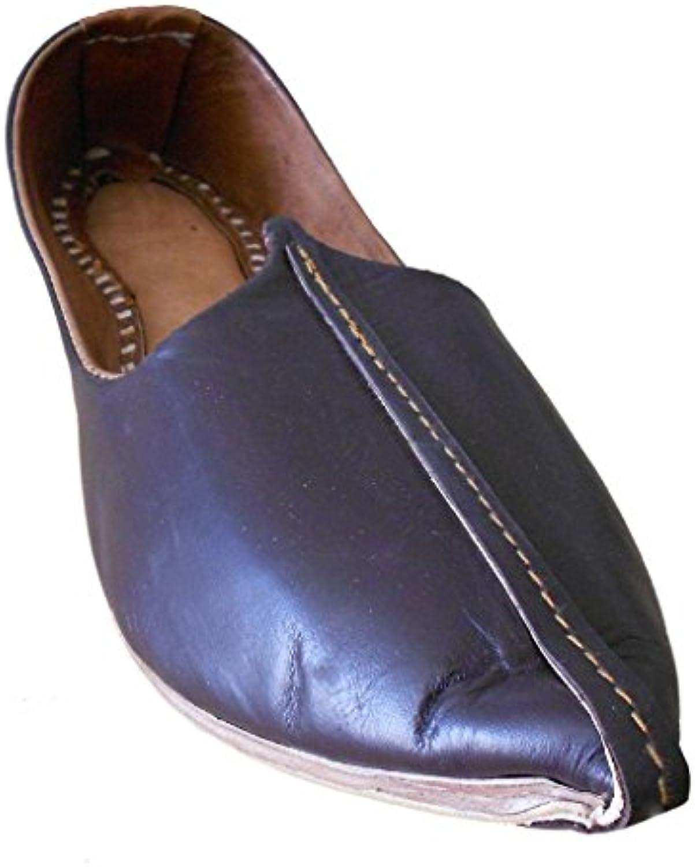 Kalra Creations KCM-000388 - Zapatillas de Estar por casa de Piel auténtica para Hombre -