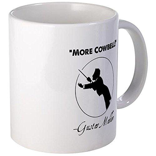 CafePress Einzigartige Tasse Mahler mehr Cowbell-Episoden Tasse-S Weiß, keramik, Weiß, Größe S (Office Episoden)
