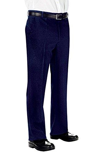 Isacco Pantalone Uomo senza Pinces - Isacco Blu - 25781