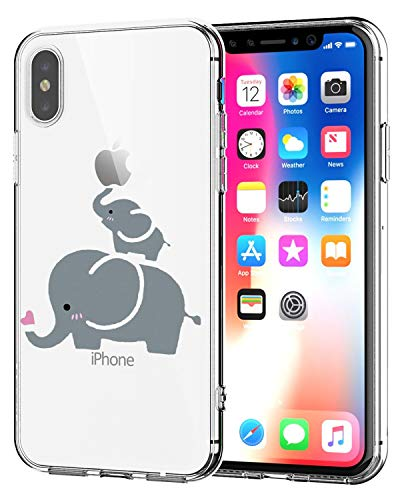 Caler Funda iPhone XS MAX Case, Suave TPU Gel Silicona Ultra-Delgado Ligera...