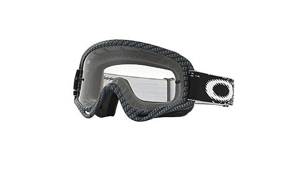 6933d7716f Oakley - Mask Cross Junior XS O FRAME True Carbon Fiber Clear  Amazon.co.uk   Car   Motorbike