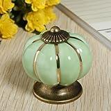 GENERIC Ceramic Pumpkins Door Drawer Cup...