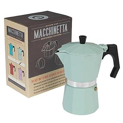 Classic Espresso Coffee Pot - Choice of Colour