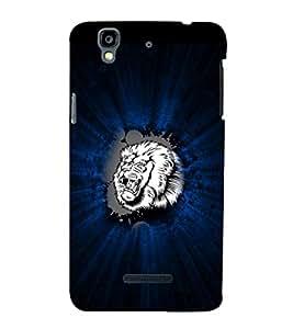 EPICCASE Roaring Lion Mobile Back Case Cover For YU Yureka (Designer Case)