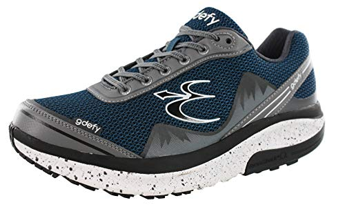 c7dd373733315 Gravity Defyer Proven Pain Relief Men's G-Defy Mighty Walk - Best Shoes for  Heel Pain, Foot Pain and Plantar Fasciitis Blue Size: 12 W US